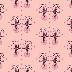 Circus Monkey pink