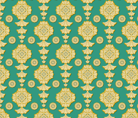 glorius_damask_versailles fabric by glimmericks on Spoonflower - custom fabric