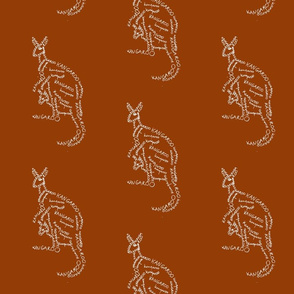kangaroo calligram 2