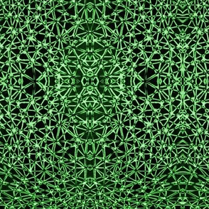Spiderised in Green