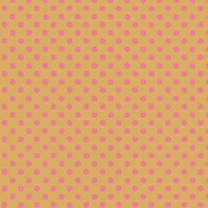 dots_coral_on_mustard