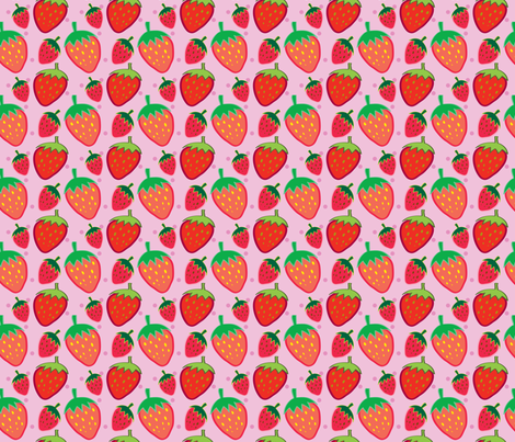 merry berries fabric by lindsaypardo on Spoonflower - custom fabric