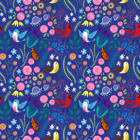 Spring Fling fabric by spicysteweddemon on Spoonflower - custom fabric