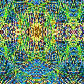 Tribal Print Blue