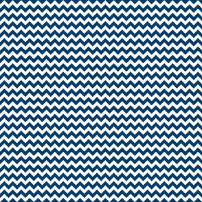 Oh Suzani Neutral Navy Chevron