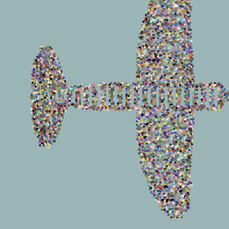 It's_a_Plane fabric by patsijean on Spoonflower - custom fabric