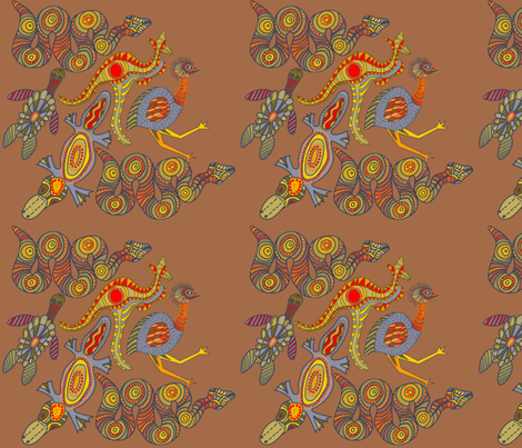 merged_turtle-ed fabric by wiccked on Spoonflower - custom fabric