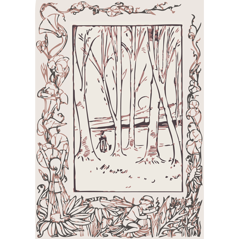 woods fabric by davidw on Spoonflower - custom fabric