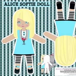 Alice in Wonderland plushie doll