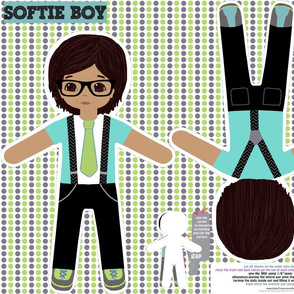 Boy softie toy doll