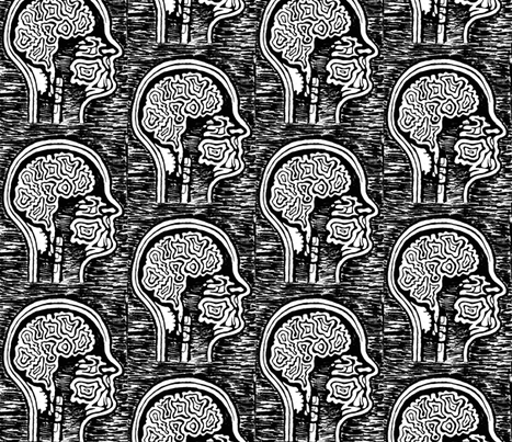 brainy fabric by clarissagunn on Spoonflower - custom fabric