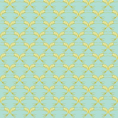 silverfishes - goldfishes fabric by silverfishcircus on Spoonflower - custom fabric