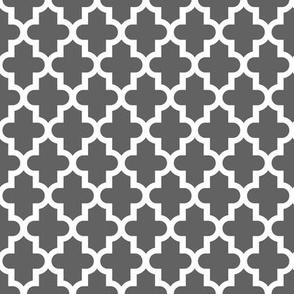 Charcoal Gray Moroccan