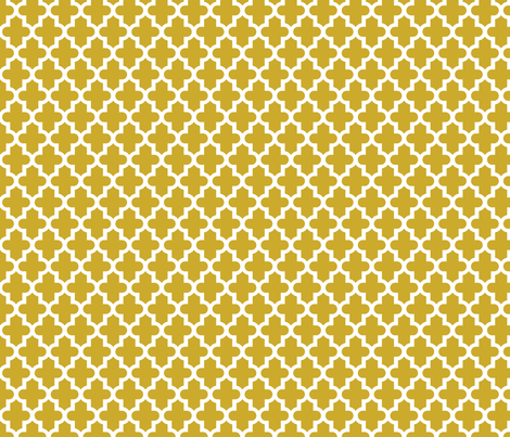 Gold Moroccan fabric by sweetzoeshop on Spoonflower - custom fabric