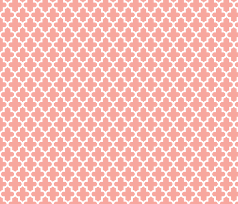 Pink Moroccan fabric by sweetzoeshop on Spoonflower - custom fabric