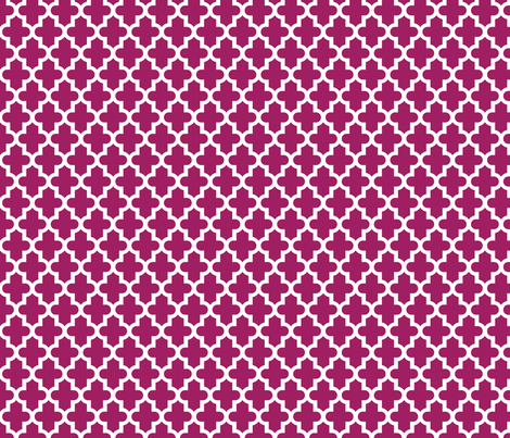 Berry Purple Moroccan fabric by sweetzoeshop on Spoonflower - custom fabric