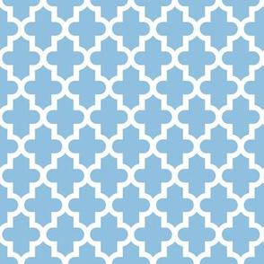 Sky Blue Moroccan