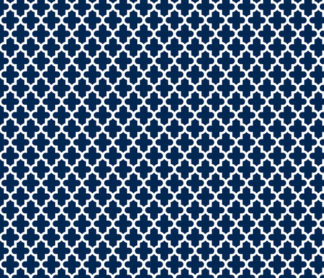 Navy Blue Moroccan