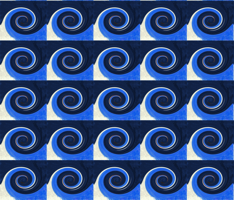 A Wave's Twirl fabric by egprestonhouse on Spoonflower - custom fabric
