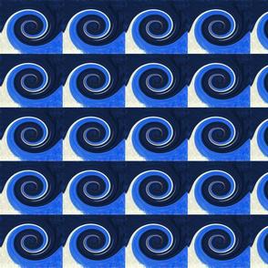 A Wave's Twirl