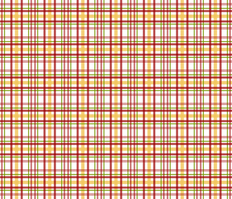 Tuscan Plaid fabric by lulabelle on Spoonflower - custom fabric