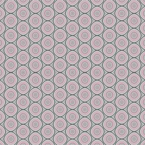 Pink and Grey Dots © Gingezel™ 2014