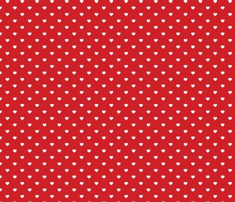 Red Polka Dot Hearts