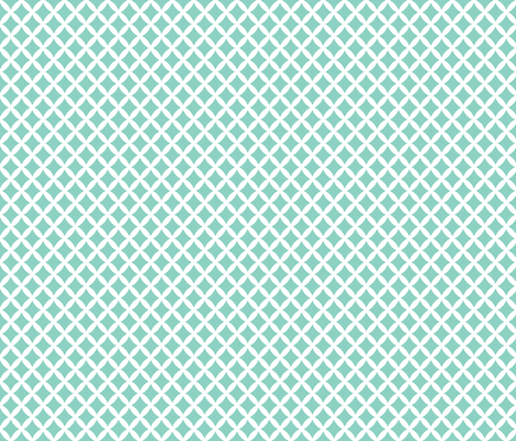 Aqua Modern Diamonds fabric by sweetzoeshop on Spoonflower - custom fabric