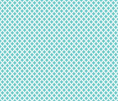 Turquoise Modern Diamonds fabric by sweetzoeshop on Spoonflower - custom fabric