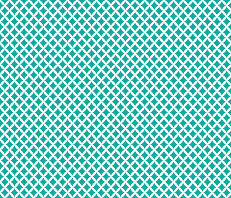 Teal Modern Diamonds fabric by sweetzoeshop on Spoonflower - custom fabric