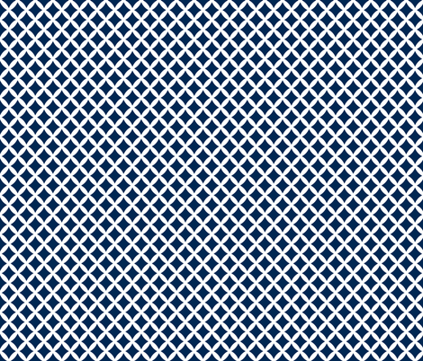 Navy Blue Modern Diamonds fabric by sweetzoeshop on Spoonflower - custom fabric