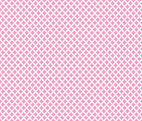 Bubblegum Pink Modern Diamonds fabric by sweetzoeshop on Spoonflower - custom fabric