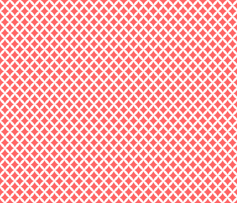 Coral Modern Diamonds fabric by sweetzoeshop on Spoonflower - custom fabric
