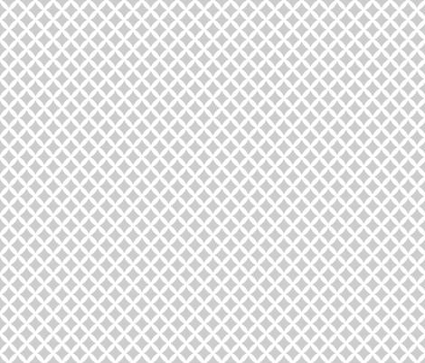 Light Gray Modern Diamonds fabric by sweetzoeshop on Spoonflower - custom fabric