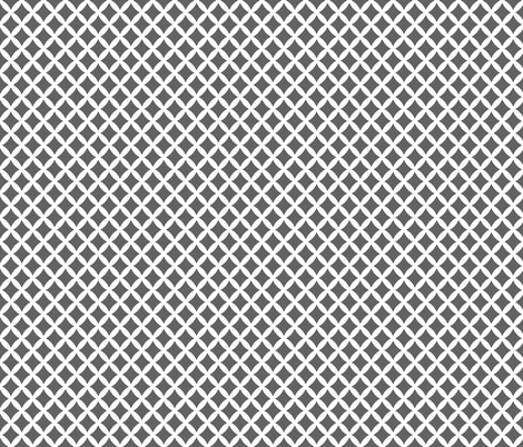 Charcoal Gray Modern Diamonds fabric by sweetzoeshop on Spoonflower - custom fabric