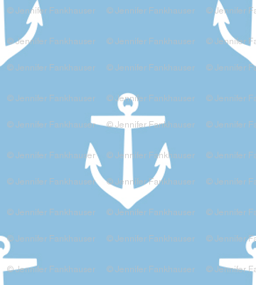 Sky Blue Anchors