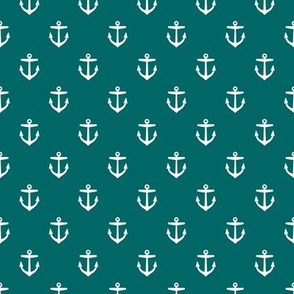 Dark Teal Anchors