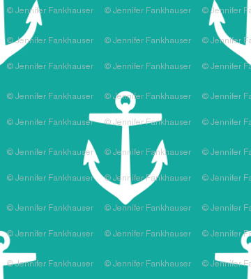 Teal Anchors