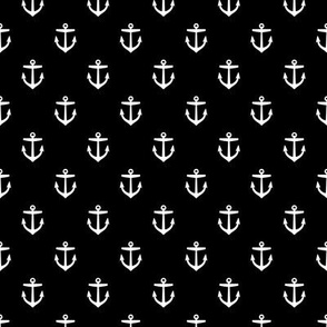 Black and White Anchors