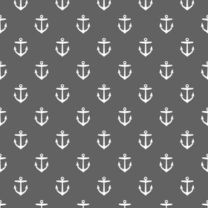 Charcoal Gray Anchors