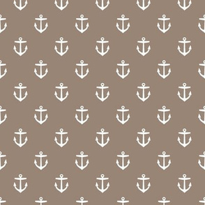 Mocha Brown Anchors