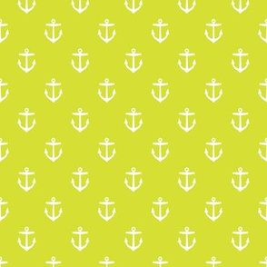Lime Green Anchors