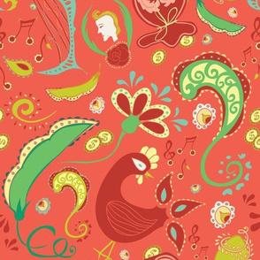 Paisley Coral