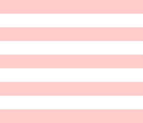 Light Pink Wide Stripes fabric - sweetzoeshop - Spoonflower