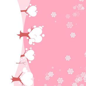 Valentine snow