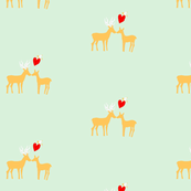 deer love - bright