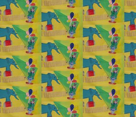 Join us at the Circus by Its-Time-Design fabric by cottagerancher on Spoonflower - custom fabric