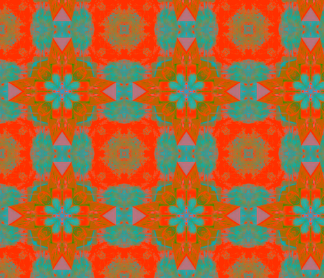 Tangerine fabric by captiveinflorida on Spoonflower - custom fabric
