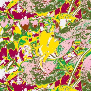 Honeysuckle in Abstract by Its-Time-Design
