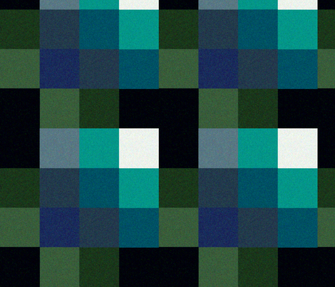 6th Sixth Dr Colin Baker lapel Pattern with green fabric by warmcanofcoke on Spoonflower - custom fabric